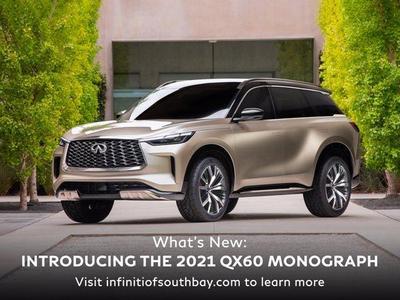 new 2019 INFINITI QX60 car, priced at $48,005