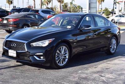 new 2020 INFINITI Q50 car, priced at $39,875