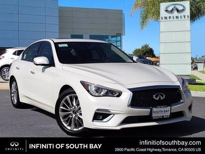 new 2021 INFINITI Q50 car, priced at $43,420
