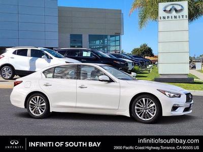 new 2021 INFINITI Q50 car, priced at $44,275