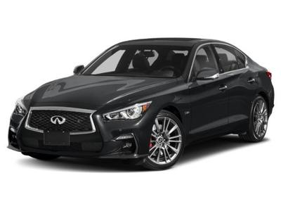 new 2021 INFINITI Q50 car, priced at $58,790