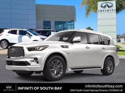 new 2021 INFINITI QX80 car, priced at $83,935