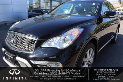used 2017 INFINITI QX50 car, priced at $20,800