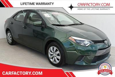 used 2016 Toyota Corolla car, priced at $10,391
