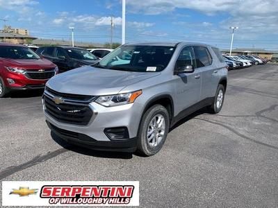 new 2021 Chevrolet Traverse car, priced at $30,015