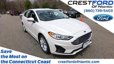 new 2020 Ford Fusion Hybrid car, priced at $25,890