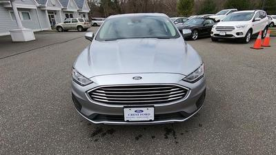 new 2020 Ford Fusion Hybrid car, priced at $26,160