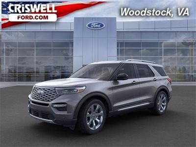 new 2021 Ford Explorer car, priced at $58,735