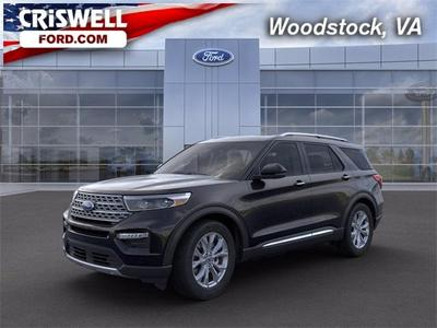 new 2021 Ford Explorer car, priced at $46,345