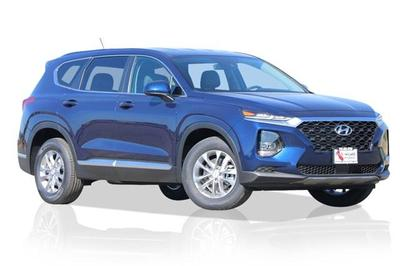 new 2019 Hyundai Santa Fe car, priced at $28,920