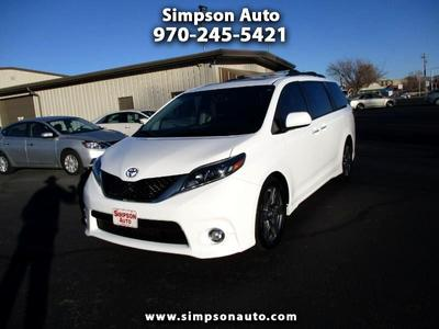 used 2017 Toyota Sienna car, priced at $25,999