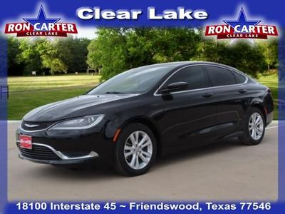 used 2016 Chrysler 200 car, priced at $11,988