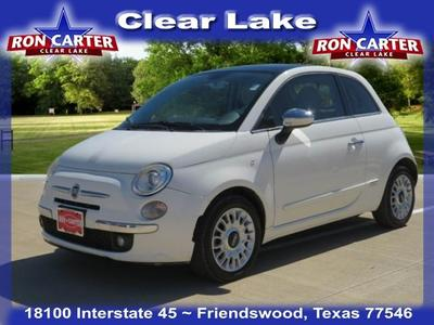 used 2013 FIAT 500 car, priced at $6,988