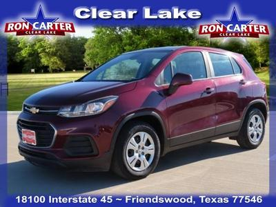 used 2017 Chevrolet Trax car, priced at $13,588