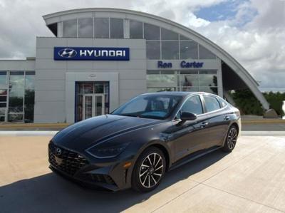 new 2021 Hyundai Sonata car, priced at $34,255