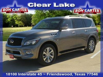 used 2017 INFINITI QX80 car, priced at $34,988