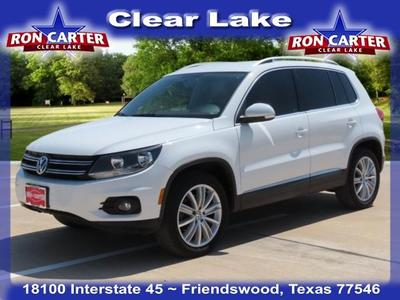 used 2014 Volkswagen Tiguan car, priced at $12,788
