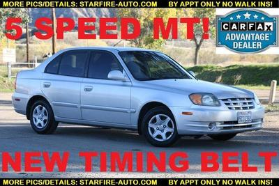 used 2003 Hyundai Accent car, priced at $2,290