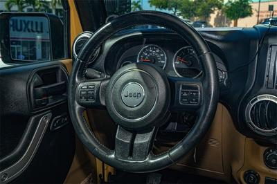 used 2013 Jeep Wrangler Unlimited car, priced at $29,000