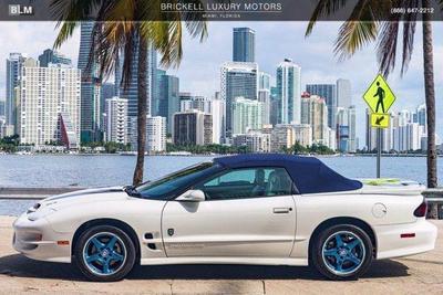 used 1999 Pontiac Firebird car, priced at $55,000