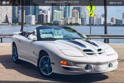 used 1999 Pontiac Firebird car, priced at $55,000