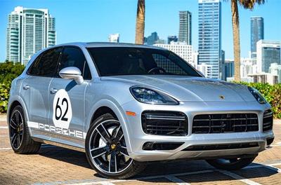 used 2019 Porsche Cayenne car, priced at $115,000