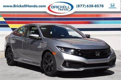 new 2021 Honda Civic car, priced at $22,182