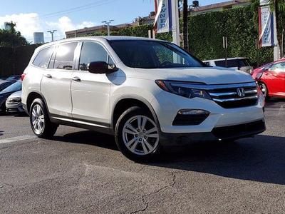 used 2017 Honda Pilot car