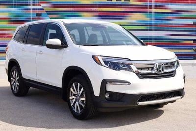 new 2021 Honda Pilot car, priced at $35,631