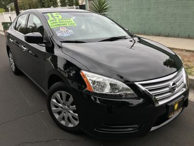 used 2015 Nissan Sentra car, priced at $10,495