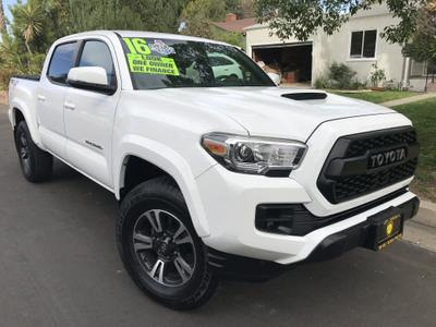 used 2016 Toyota Tacoma car, priced at $30,995