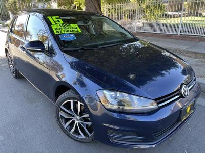 used 2015 Volkswagen Golf car, priced at $15,495