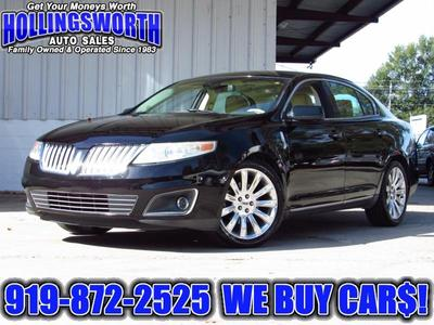 used 2011 Lincoln MKS car, priced at $9,990