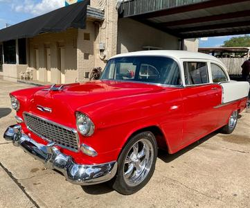 used 1955 Chevrolet Bel Air car, priced at $38,500