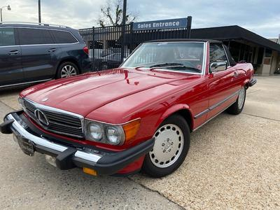 used 1989 Mercedes-Benz SL-Class car, priced at $28,900