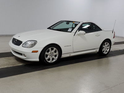 used 2003 Mercedes-Benz SLK-Class car, priced at $7,799