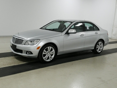 used 2008 Mercedes-Benz C-Class car, priced at $8,999
