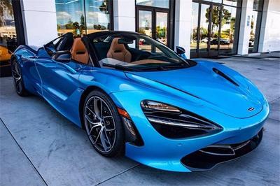 new 2020 McLaren 720S car, priced at $386,200