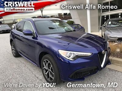 new 2021 Alfa Romeo Stelvio car, priced at $52,214