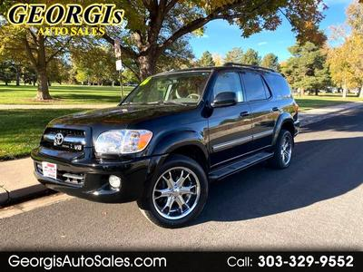 used 2006 Toyota Sequoia car, priced at $13,995