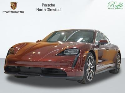 new 2021 Porsche Taycan car, priced at $124,700