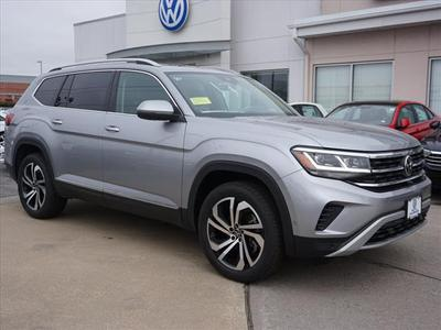 new 2021 Volkswagen Atlas car, priced at $47,237