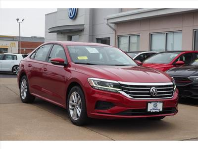 new 2021 Volkswagen Passat car, priced at $22,538