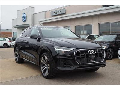 used 2019 Audi Q8 car, priced at $64,900