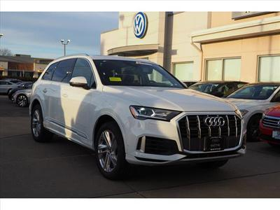 new 2021 Audi Q7 car, priced at $66,515