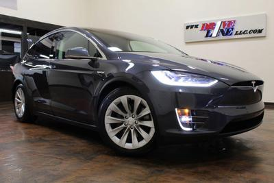 used 2016 Tesla Model X car, priced at $62,995