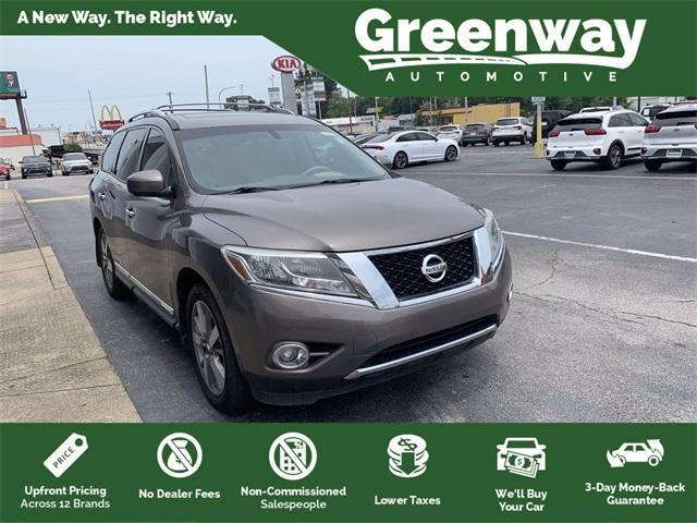 used 2013 Nissan Pathfinder car, priced at $13,191