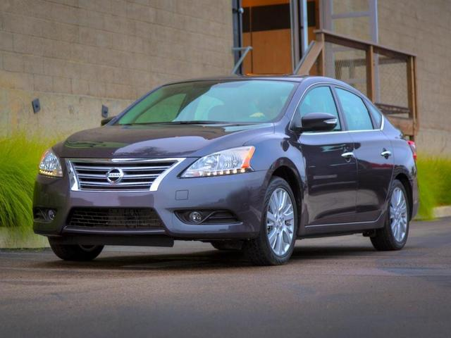 used 2015 Nissan Sentra car, priced at $9,999