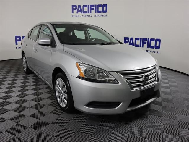used 2015 Nissan Sentra car, priced at $11,999