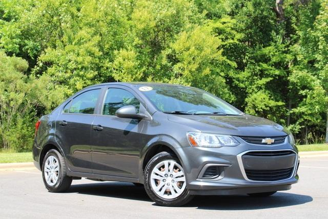 used 2017 Chevrolet Sonic car, priced at $12,064